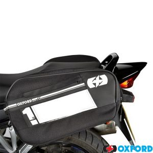 Oxford Heritage Panniers Khaki 40L Motorcycle Bike Luggage OL578